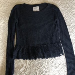 Abercrombie kids size medium sweater